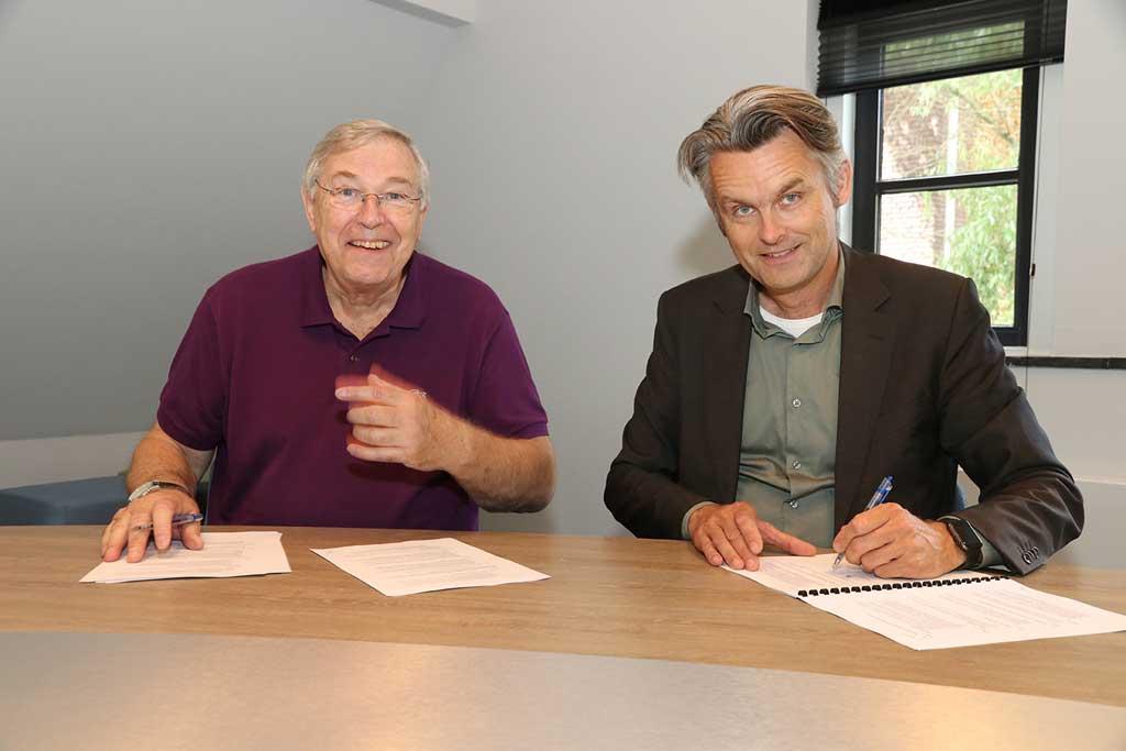 Ondertekening samenwerkingsovereenkomst met deltaWonen